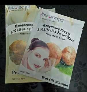 Bengkoang beauty & whitening facial mask