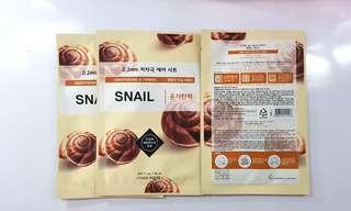Face Mask - Snail