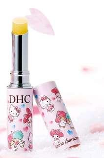 日本 DHC 純欖護唇膏 Hellokitty & Meloy & little twins star 限定限量版 $59 包平郵