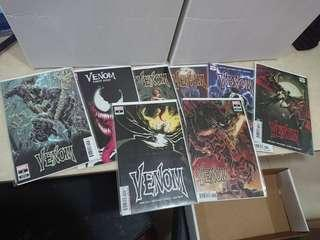 Marvel Venom Comics
