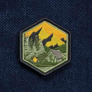 PDW - Mountain Camp Sunset