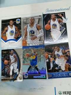 NBA card 伊古達拉 IGUODALA 勇士 76人