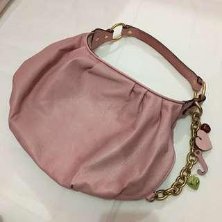 Juicy Couture Pink Leather Bag