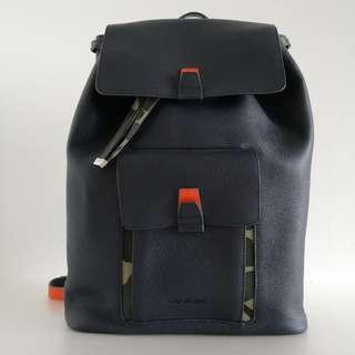 Dior Homme Leather Backpack