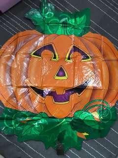 Jumbo Halloween Pumpkin Foil Balloon