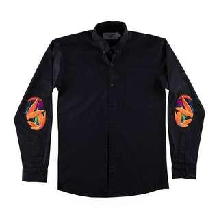 Pestle & Mortar : Heliconia Elbow Patch Shirt