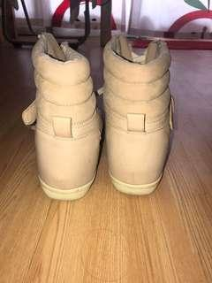Bershka heeled boots