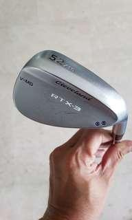 Cleveland RTX-3, 52 Deg, with Nippon NS-Pro 950GH Shaft