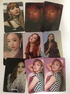 WTS BLACKPINK SQUARE UP OFFICIAL PHOTOCARD