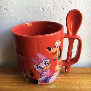 Disney 迪士尼卡通 米奇老鼠 米妮 水杯