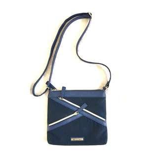 NINE WEST navy blue sling bag