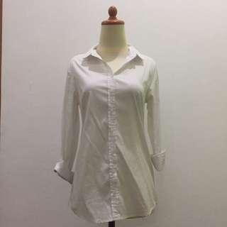 Basic White Shirt by Stradivarius