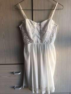 NEW White Party Dress