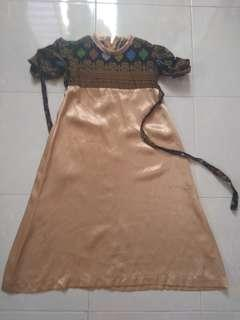 Jubah dress 2-3y