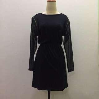 Bloop Endorse x Diana Rikasari Black Dress