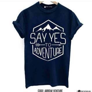 Travel Inspired Shirts - Big Prints