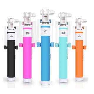 🚚 3rd Generation Wired Monopod / Wired Bluetooth Monopod -Candy series - 50% off promotion sales!