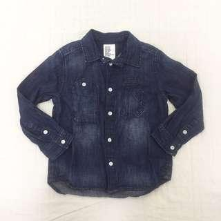 H&M Boys Denim Long Sleeves