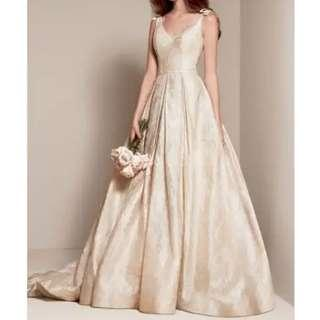 🈹2500➡2000 👰 White by Vera Wang Gown