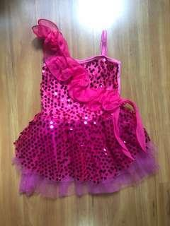 Girl sequin tutu dress