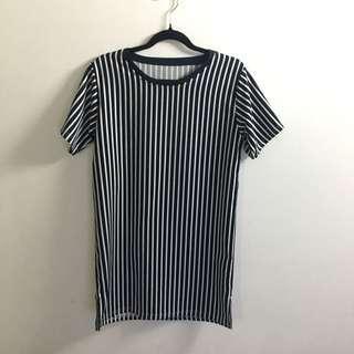 Casual short sleeves dress