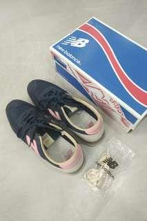 New Balance 620 (navy blue + pink) unisex shoes