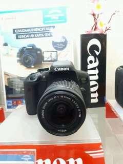 Kamera Canon DSLR 750D Promo (Kredit 3 Menit)