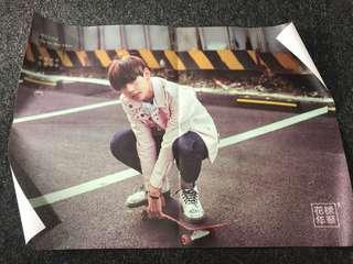 Rare Taehyung Run Poster