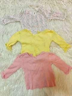 TAKE ALL: F&F baby blouses