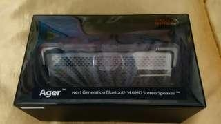 Ager bluetooth 4.0 stereo speaker 藍芽喇叭x1