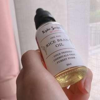 Rice Bran Serum Oil Organic