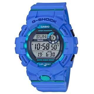 CASIO G-SHOCK G-SQUAD SERIES GBD-800-2 藍色 GSHOCK GBD800 GSQUAD