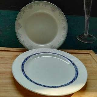 Korean Jade Bone Orphan Dessert / Cake Plates