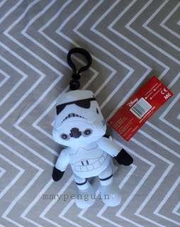 15cm Starwars soft toy keychain