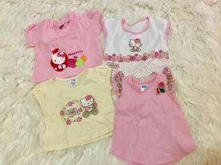 TAKE ALL: Hello Kitty baby Shirts