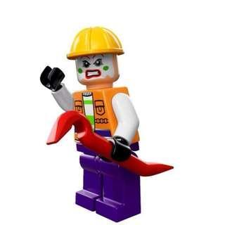 Lego DC Super Heroes - Joker Henchman Goon 76013 Minifigure new