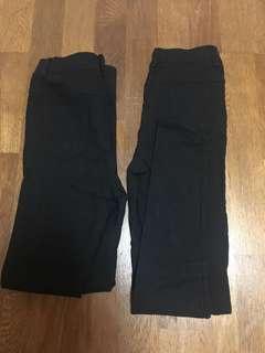 🚚 Sassy黑色長褲 M