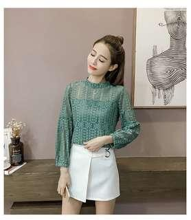 #H&M50 (READYSTOCK) Lace Top