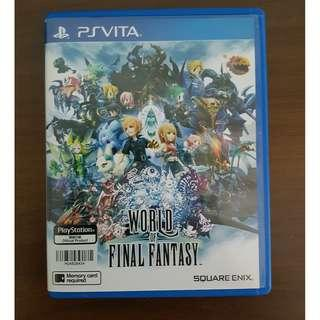 🚚 World of Final Fantasy  PS Vita Original Game