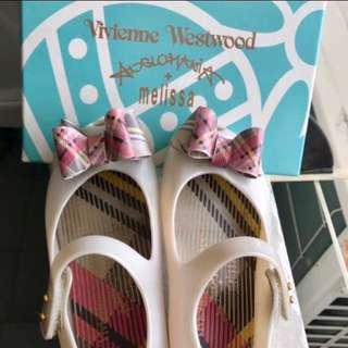 Authentic Mini Melissa shoes