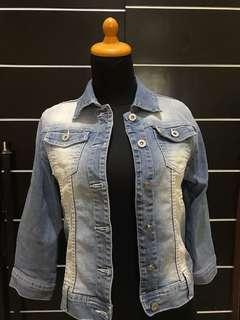 jaket jeans nevada size M