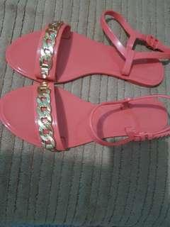 Guess jelly sandals size 7