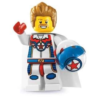 Lego Daredevil Series 7 Minifigures 8831 Stunt Man Dare Devil Stuntman
