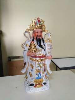 财神到 god of wealth statue