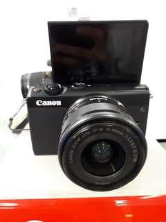 Kamera Canon Eos M100 Mirrorless Kredit Murah Tanpa CC