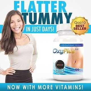 🚚 ❤️🇺🇸USA❤️Oxyplus 1 month supply 120 tablets for flatter tummy! #weightloss #diet #natural #oxytarm #evolutionary Slimming