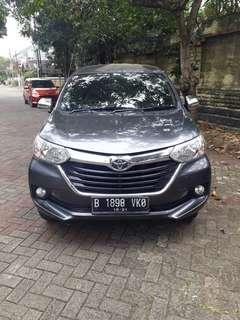 Toyota Avansa G 2016