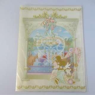 Tokyo Disney Sea 10頁透明File (手度內頁25.5cm x 19cm) 包本地平郵