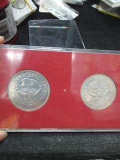 匈牙利套幣2枚