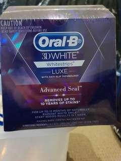 Oral B 3D white - white strips luxe